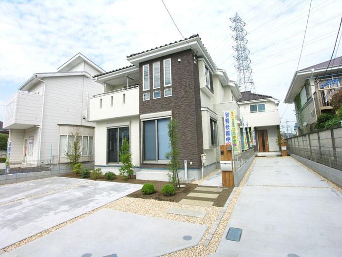 新築分譲住宅 全2棟 新堀2丁目 終了いたしました