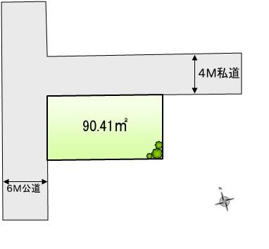 宅地分譲 全1区画 八王子市子安町 終了いたしました