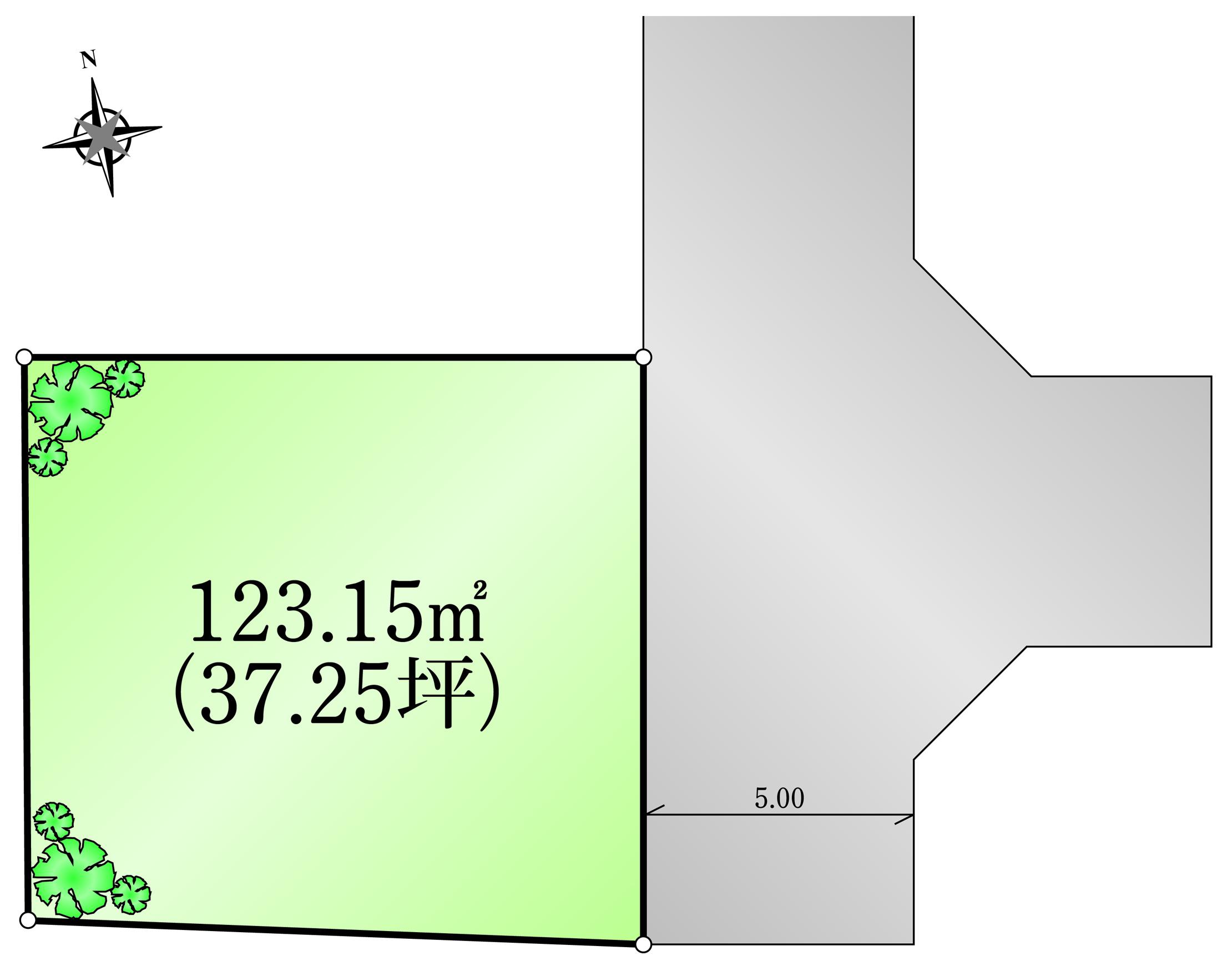 宅地分譲 1区画 武蔵村山市神明 終了いたしました