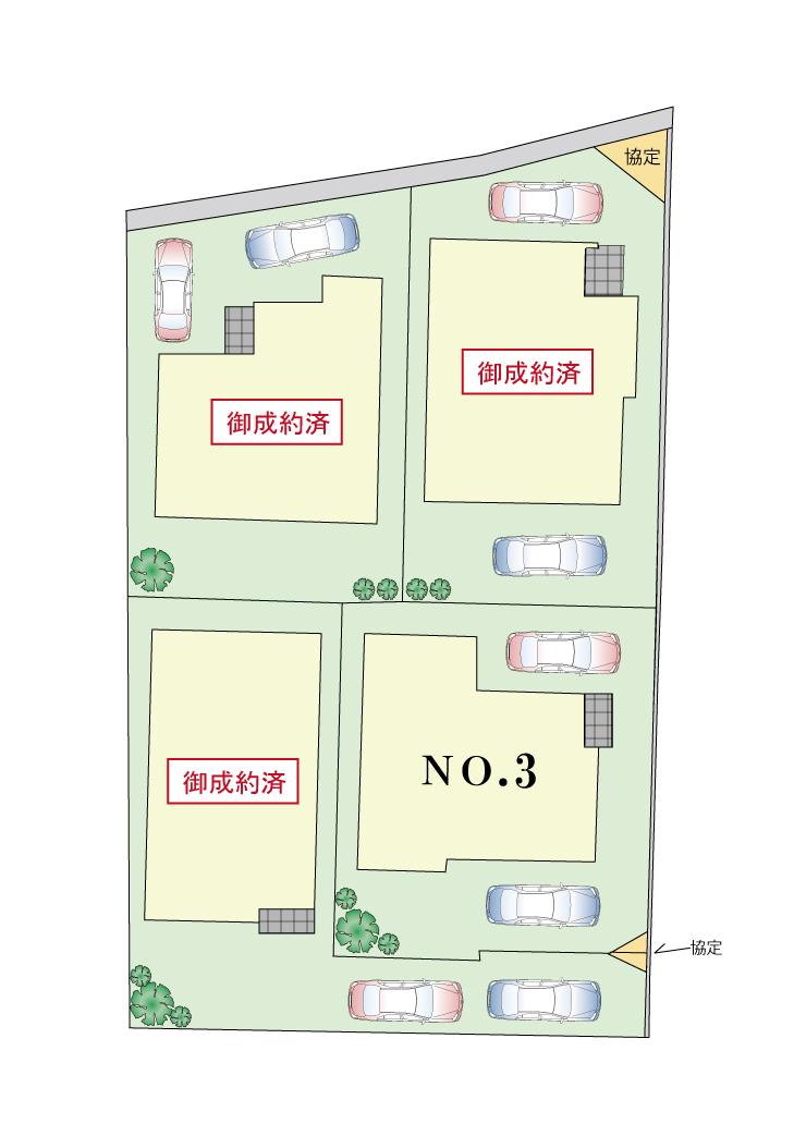 新築分譲住宅 立川市柴崎町5丁目 全4棟終了いたしました