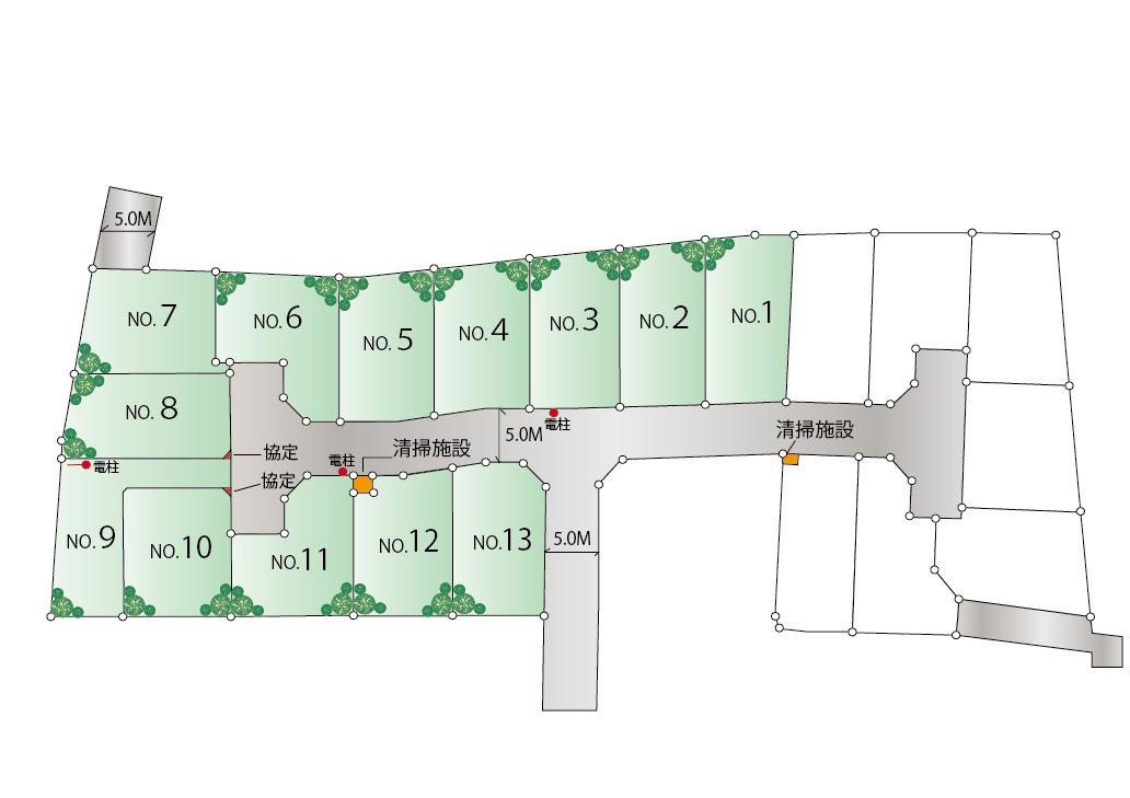 東大和市芋窪4丁目 新築分譲住宅全13棟 ※販売予定