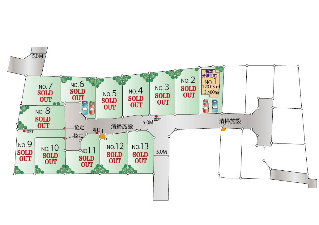東大和市芋窪4丁目 新築分譲住宅 最終1棟!