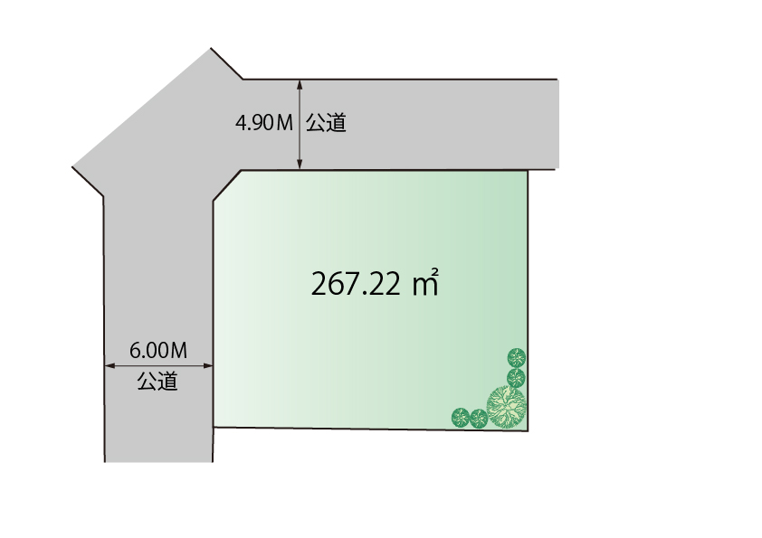 東大和市湖畔2丁目 建築条件無売地 終了となりました