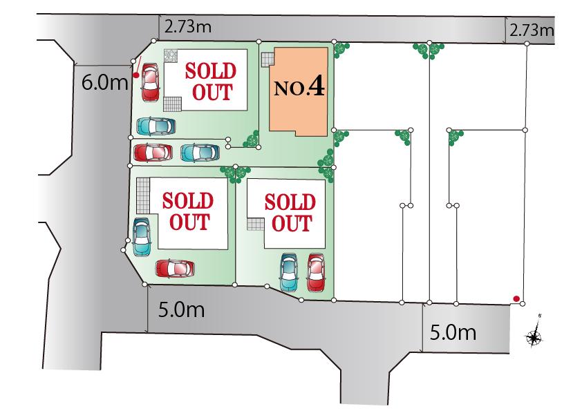 武蔵村山市学園5丁目 新築分譲住宅 最終1棟  好評発売中!