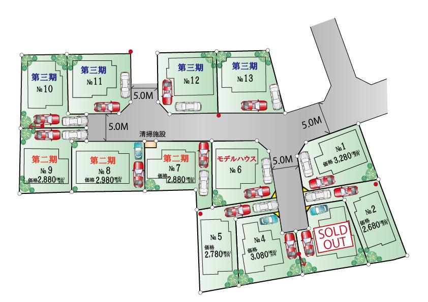 武蔵村山市学園1丁目  新築分譲住宅 全13棟 ※近日発売予定