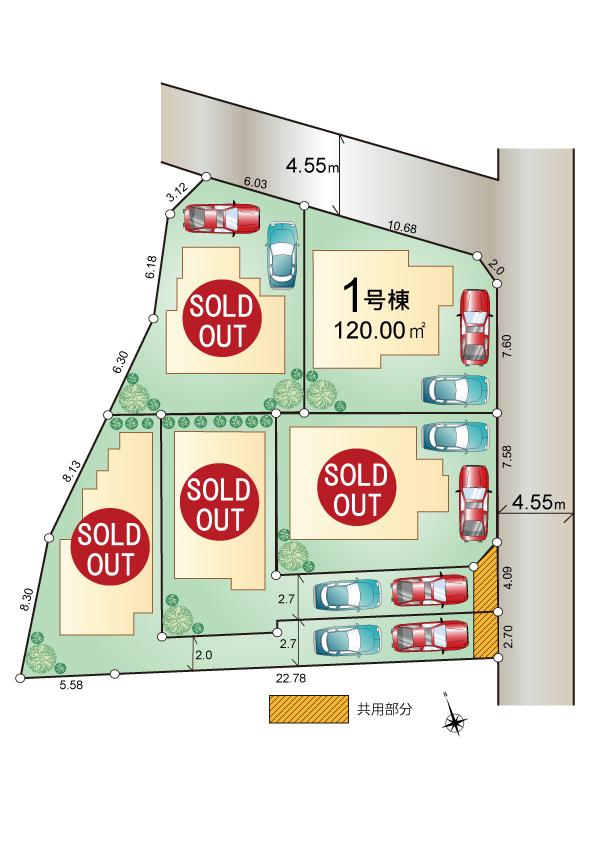 東大和市高木2丁目 新築分譲住宅 最終1棟 好評発売中!