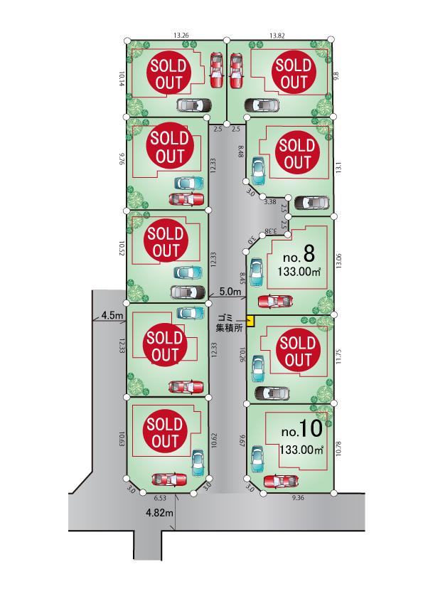 武蔵村山市学園4丁目 新築分譲住宅 全10棟 好評発売中!