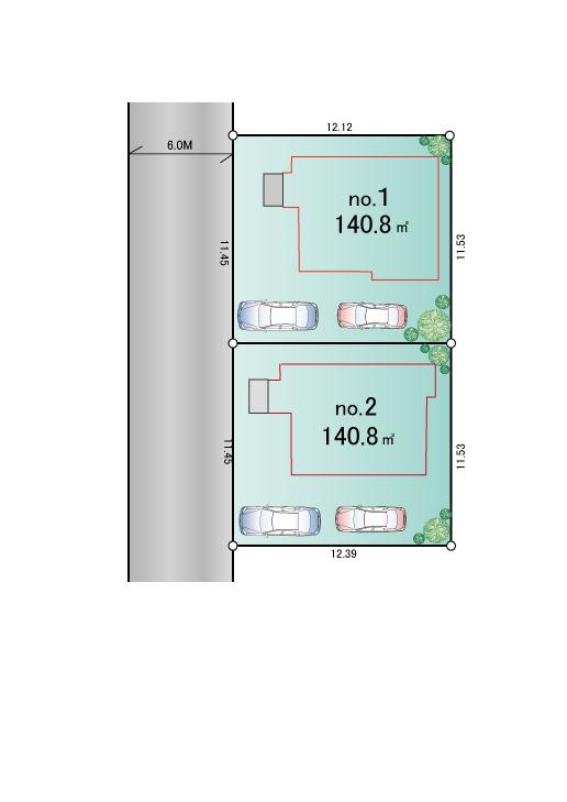 武蔵村山市学園4丁目 新築分譲住宅 全2棟 新発売!!