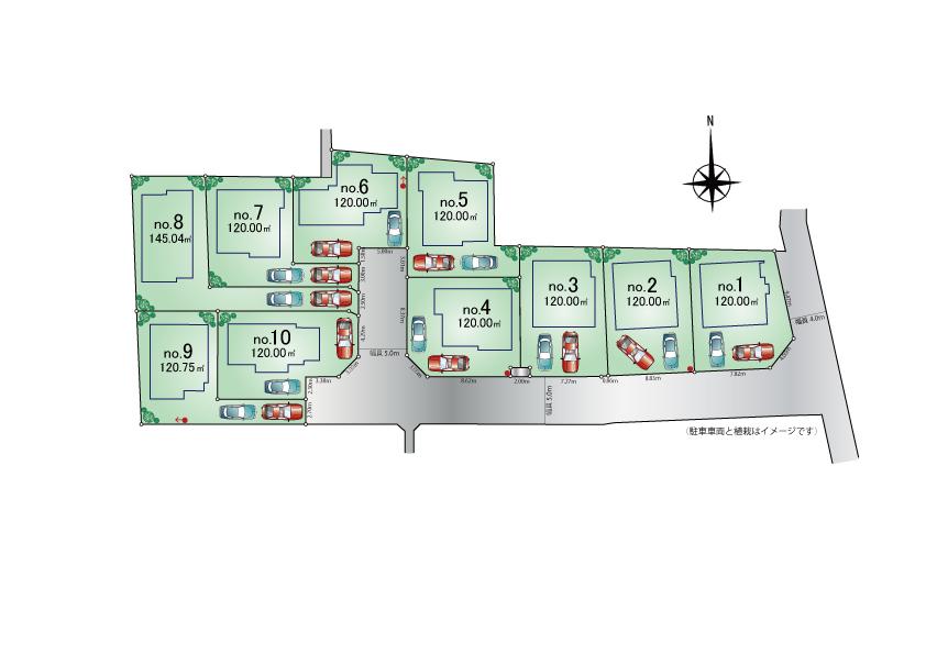 東大和市蔵敷2丁目 新築分譲住宅 全10棟 ※販売予定!