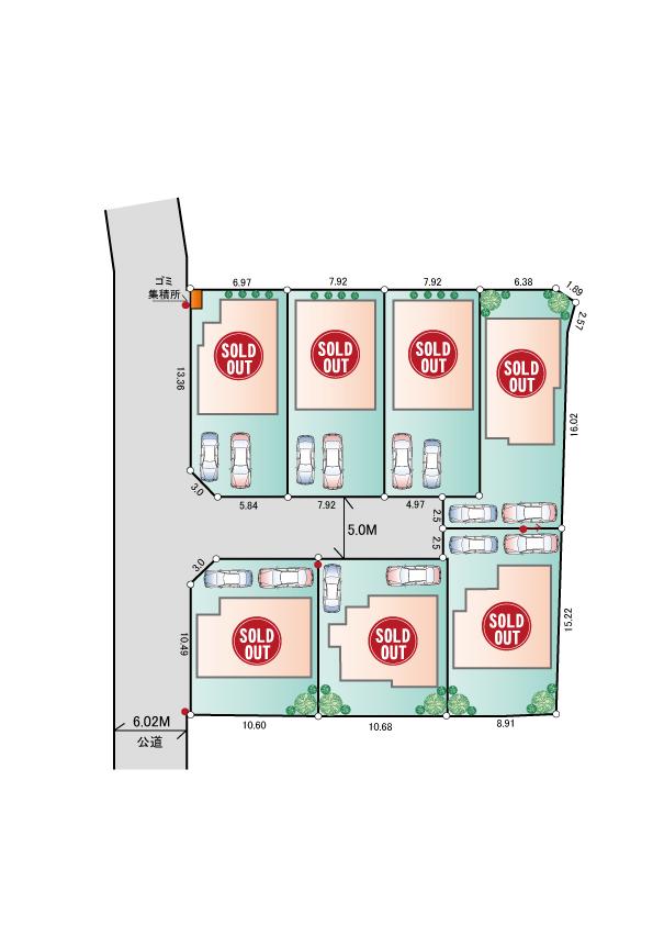東大和市蔵敷2丁目 新築分譲住宅 終了となりました