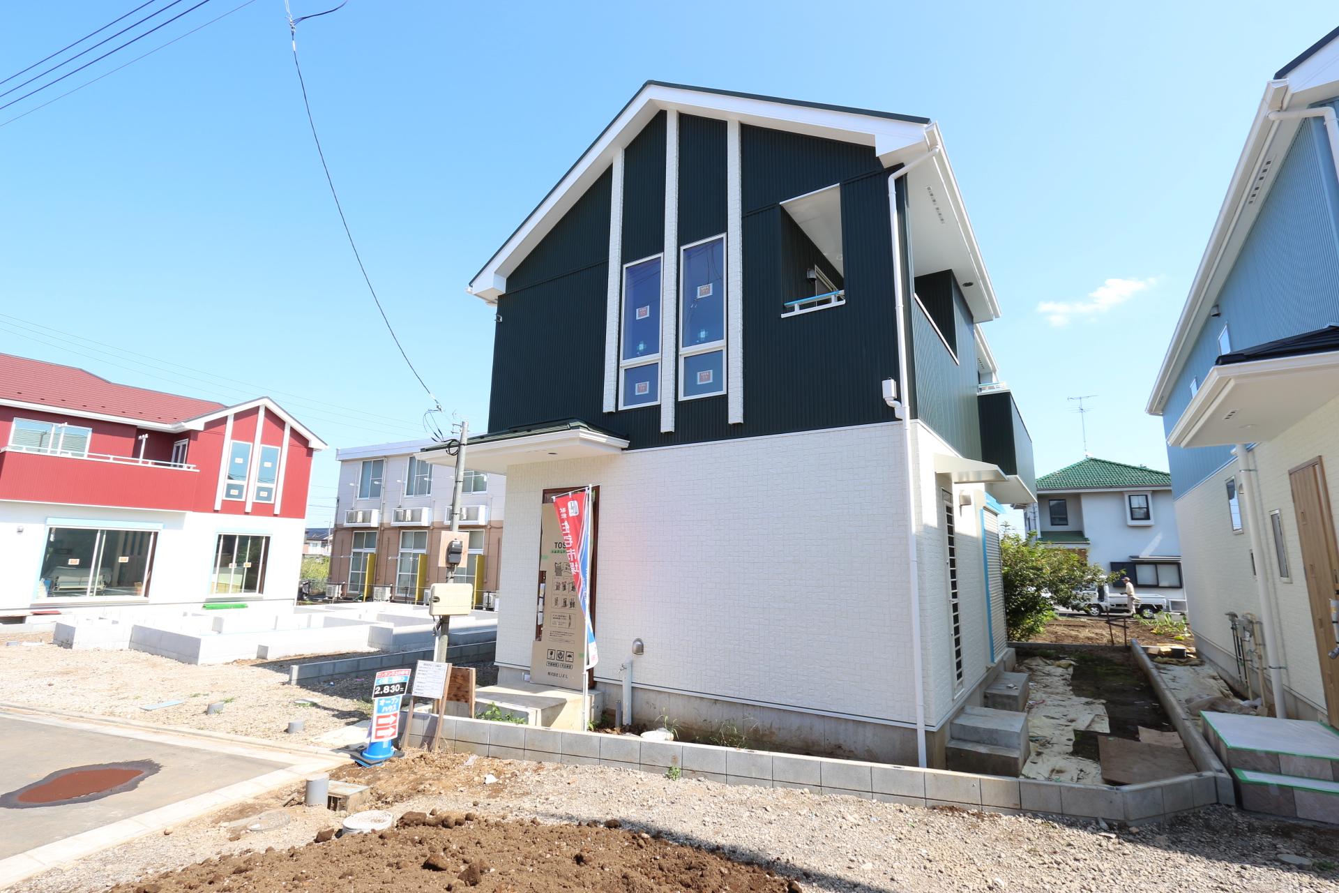 武蔵村山市神明1丁目 新築分譲住宅 終了となりました
