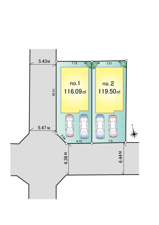 武蔵村山市大南2丁目 新築分譲住宅 全2棟 新発売!